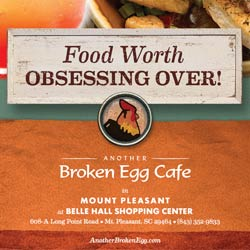 Another Broken Egg Cafe. Made Fresh. ade with creativity.
