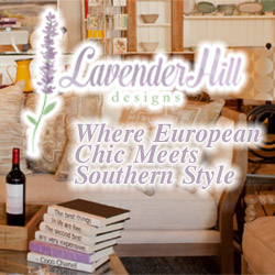 Lavendar Hill Designs - dedicated to bringing you unique and beautiful home accents, furniture, tabletop, linens, and gifts from around the world